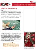 Calzado con sabor a Mallorca | El blog de Fiona Ferrer Leoni